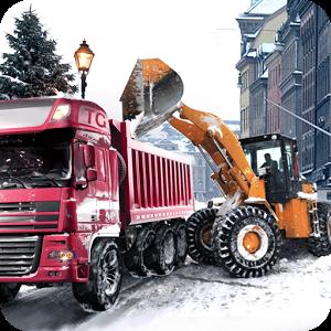 冬季铲车:卡车模拟破解版