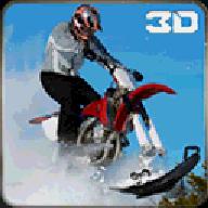 极端的雪地摩托特技自行车破解版