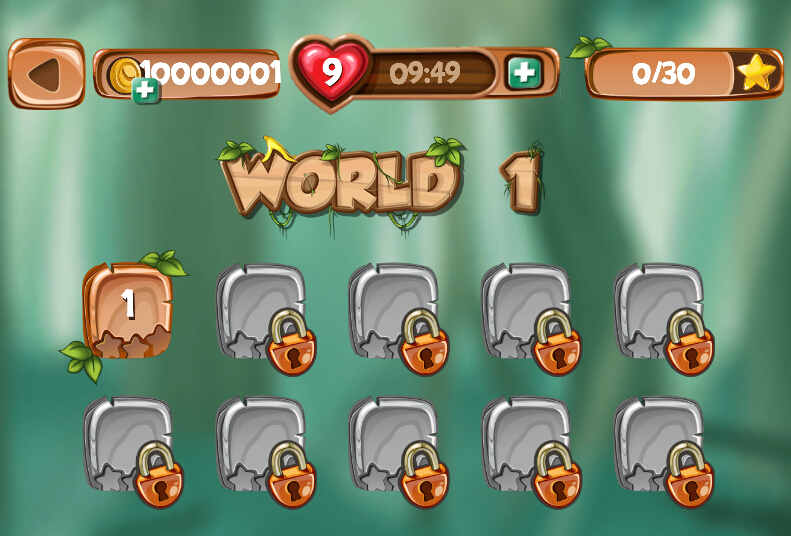 猴子快跑:香蕉岛