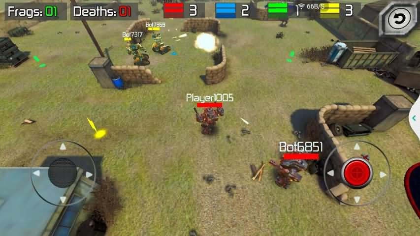 真实机器人:钢铁战争3D破解版截图1