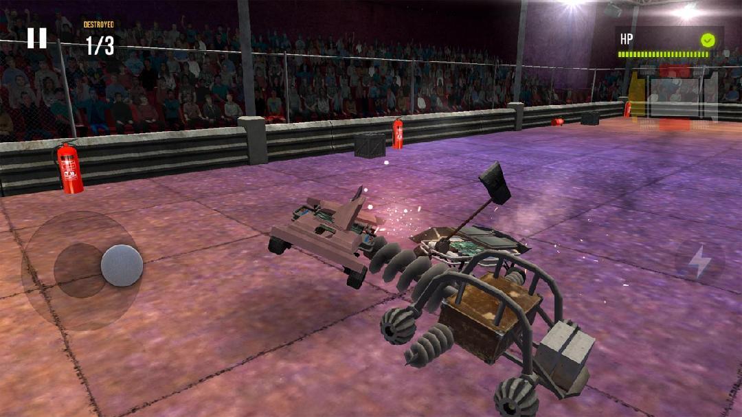 机甲战争2:小型战斗破解版截图1