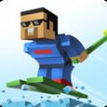 像素滑雪比赛
