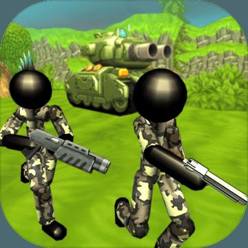 火柴人坦克战模拟器