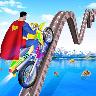 超级英雄杂技驾车破解版