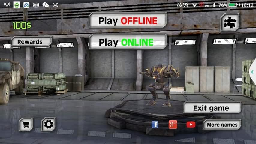 真实机器人:钢铁战争3D破解版截图2