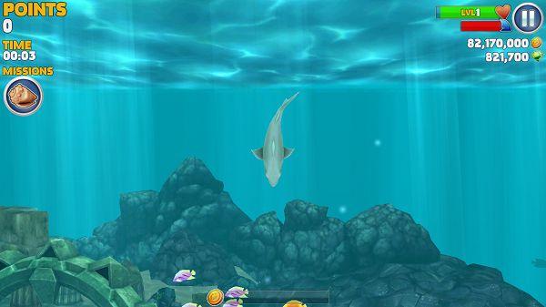 饥饿的鲨鱼:进化破解版截图3