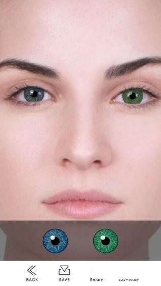 Eye Color Changer截图1