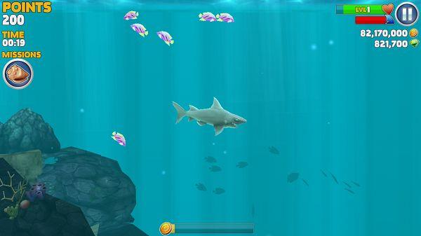饥饿的鲨鱼:进化破解版截图2