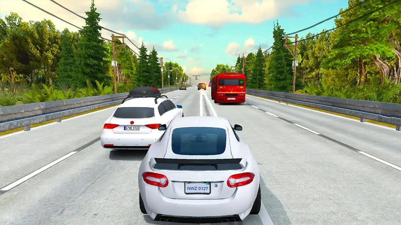 公路交通赛车:极限模拟破解版截图4