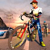 无畏的BMX骑手