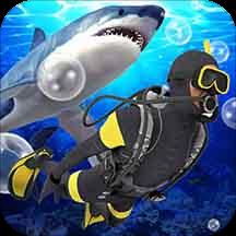 潜水员探险