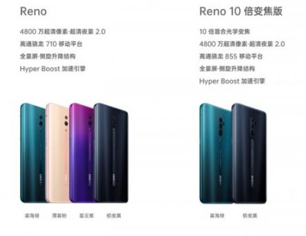 oppo的reno10倍变焦版有什么区别_oppo的reno10倍变焦版和普通版对比一览