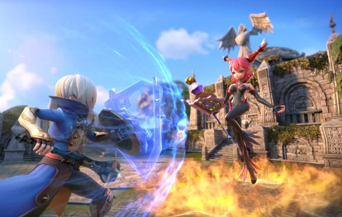《龙之谷2》7月28日公测更新内容一览_全新玩法神圣竞技场介绍